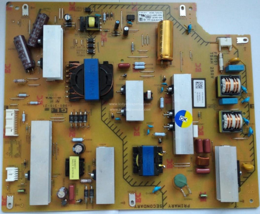 1-980-310-21 , APS-395/B , 4-592-028-01 , SONY , KD 55XF7596 , Power Board , Besleme Kartı , PSU