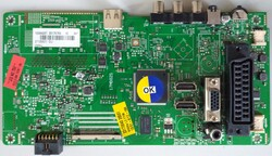 FINLUX - 17MB82S , 23176789 , 10088237 , FINLUX , 39FD4000 , LED , VES390UNDA-01 , Main Board , Ana Kart