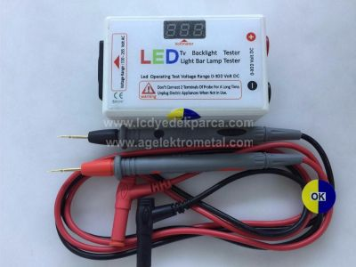 LED TV LED ÇUBUK TEST CİHAZI , LED AYDINLATMA TEST CİHAZI , LED TV BACKLIGHT TESTER , LED LIGHT BAR LAMP TESTER , 0-300 VOLT DC