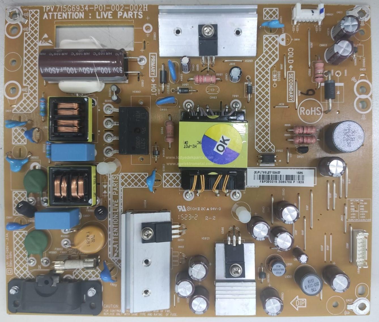 715G6934-P01-002-002H , PHILIPS , TPT315B5 , Power Board , Besleme Kartı , PSU