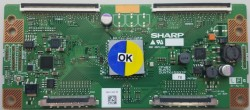 SHARP - DUNTK4593TP YB , 460D3L , 23040 , Logic Board , T-con Board