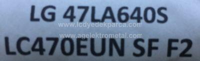 LG , LC470EUN SF F2 , LC470EUN SF F1 , 47LA640S , 47 V13 EDGE REV0.4 , 6920L-0001C , 1 ADET LED ÇUBUK
