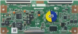 SHARP - RUNTK4106TP , CPWBX RUNTK 4106TP , SHARP , 52PFL5604 , Logic Board , T-Con Board